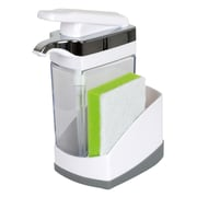 Casabella Duo Sink Sider Soap and Lotion Dispenser
