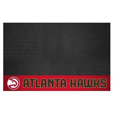 FANMATS NBA Grill Utility Mat; Atlanta Hawks