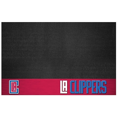 FANMATS NBA Grill Utility Mat; Los Angeles Clippers