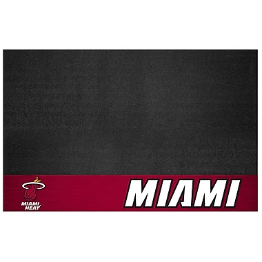 FANMATS NBA Grill Utility Mat; Miami Heat
