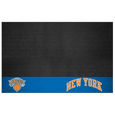 FANMATS NBA Grill Utility Mat; New York Knicks
