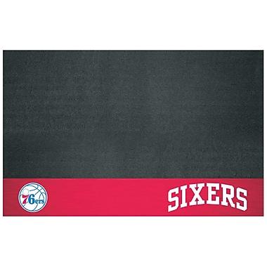 FANMATS NBA Grill Utility Mat; Philadelphia 76ers