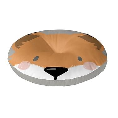Kavka Fox Floor Pillow; 26'' H x 26'' W