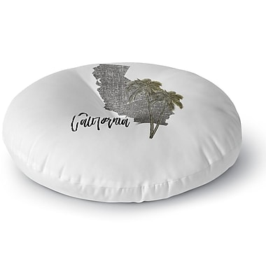 Kavka California Floor Pillow; 26'' H x 26'' W