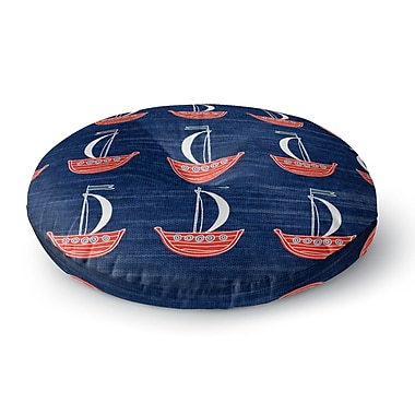 Longshore Tides Hammond Away Floor Pillow; 26'' H x 26'' W