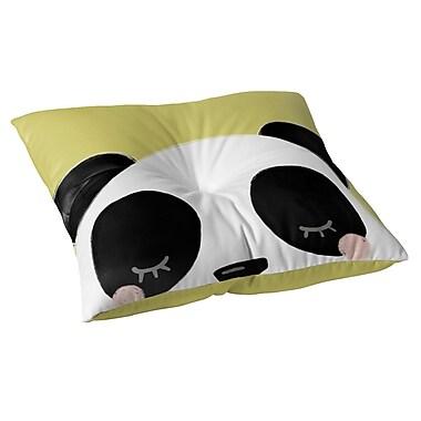 Kavka Panda Floor Pillow; 26'' H x 26'' W