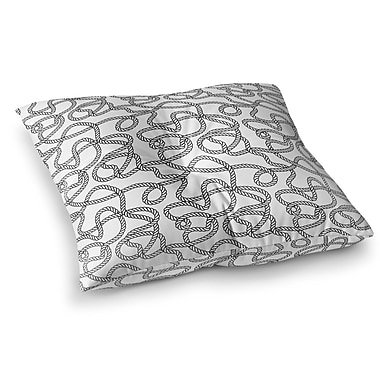 Longshore Tides Charleigh Floor Pillow; 26'' H x 26'' W