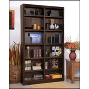 Red Barrel Studio Black Bear 84'' Standard Bookcase; Espresso