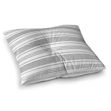 Longshore Tides Ellicott Floor Pillow; 23'' H x 23'' W
