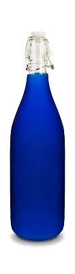 Uno Casa 33oz. Water Bottle; Blue