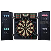 Arachnid E-Bristle 3 Piece 1000 LED Electronic Dartboard Cabinet Set