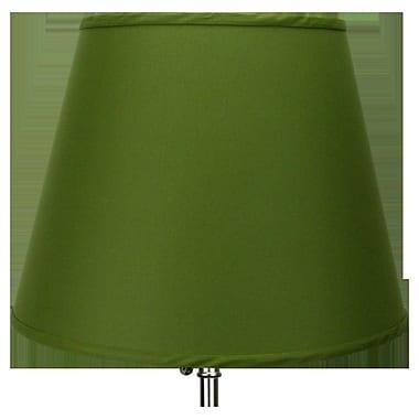 Fenchel Shades 17'' Linen Empire Lamp Shade; Avocado