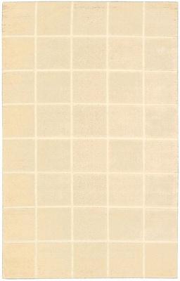 Ebern Designs Aspasia Geometric Hand-Tufted Ivory Area Rug; 8' x 10'6''
