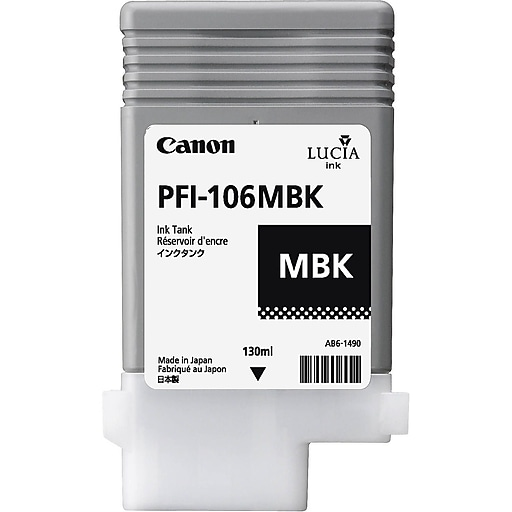 Canon PFI-106 Black Matte Ink Cartridge
