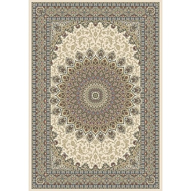 Astoria Grand Attell Persian Ivory Indoor/Outdoor Area Rug; 9'2'' x 12'10''