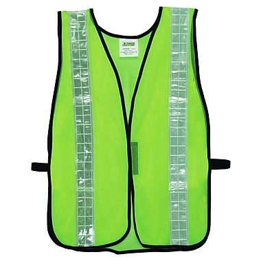 Cordova (V121W) Non-Rated Lime Green Mesh Vest with 2