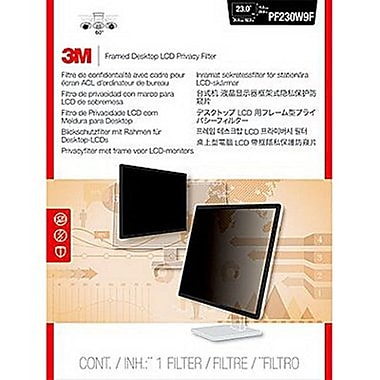 3M Framed Privacy Filter PF230W9F - Display Privacy Filter - 23