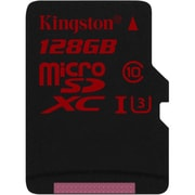 Kingston - Carte mémoire microSDXC classe U3, 128 Go(SDCA3/128GB)