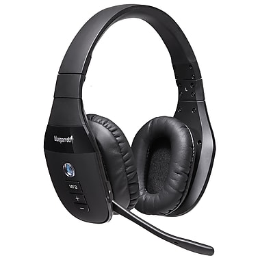 BlueParrott S450-XT Stereo Bluetooth Headset, Black (15-01503)