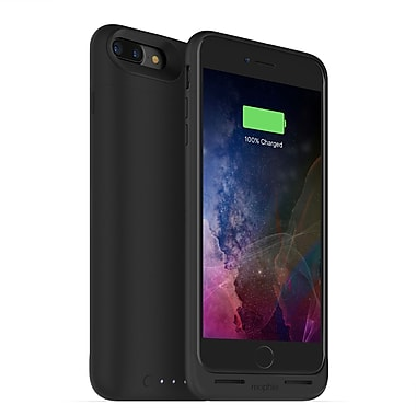 mophie Juice Pack Air Wireless Charging Cell Phone Case for iPhone 7 Plus, Black (15-01761)
