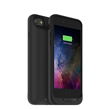 mophie Juice Pack Air Wireless Charging Cell Phone Case for iPhone 7, Black (15-01763)