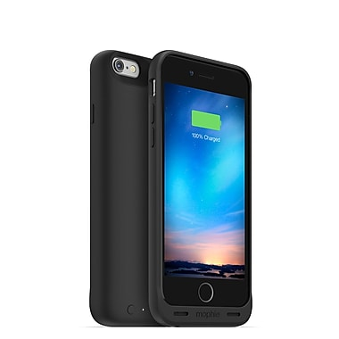 mophie Juice Pack Reserve Charging Cell Phone Case for iPhone 6/6S, Black (15-01768)