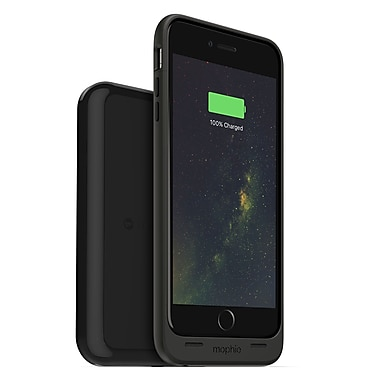 mophie Juice Pack Wireless Charging Cell Phone Case & Base for iPhone 6 Plus/6S Plus, Black (15-01771)