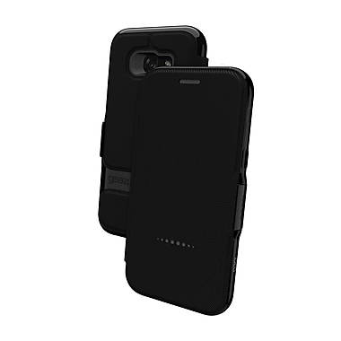 GEAR4 Oxford Book Wallet Cell Phone Case for Galaxy A5, Black (15-01653)