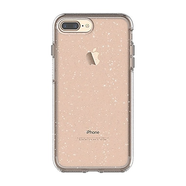 OtterBox Symmetry Series Cell Phone Case for iPhone 7 Plus, Clear/Silver Flake (15-01797)
