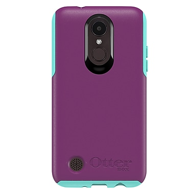 OtterBox Achiever Series Cell Phone Case for LG K4, Cool Plum (15-01636)