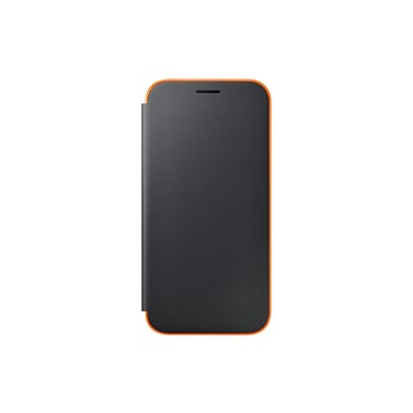 Samsung Neon Flip Cover Flip Cell Phone Case for Galaxy A5, Orange (15-01512)
