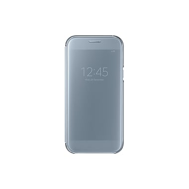 Samsung Clear View Cover Flip Cell Phone Case for Galaxy A5, Blue (15-01625)