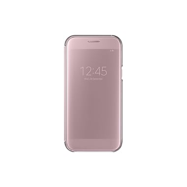 Samsung Clear View Cover Flip Cell Phone Case for Galaxy A5, Pink (15-01627)