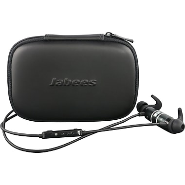 Jabees – Casque de communication AMPSound amplificateur auditif / cellulaire Bluetooth, argent