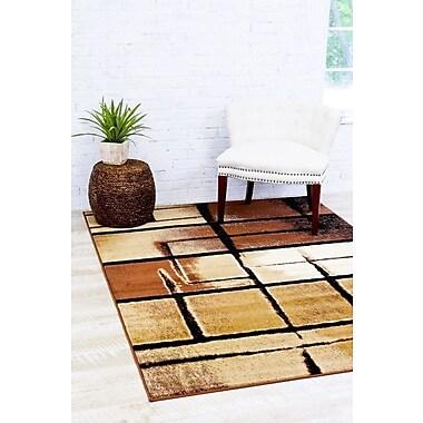 Latitude Run Bennet Beige Indoor/Outdoor Area Rug; 5'2'' x 7'2''