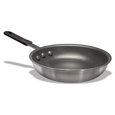 CRESTWARE Aluminum Platinum Pro Non-Stick Frying Pan w/ Molded Handle; 8'' W