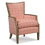 Fairfield Chair Wood Framed Lounge Chair; Salmon
