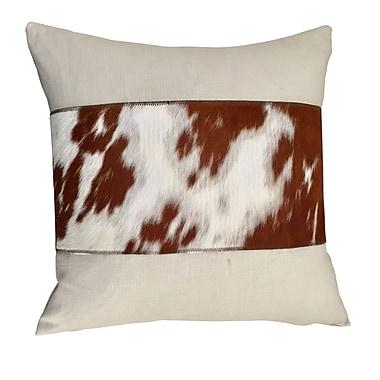 Deco Hides Dreux Throw Pillow