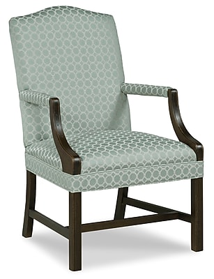 Fairfield Chair Martha Washington Occasonal Arm Chair; Straw