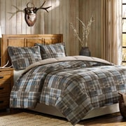 Woolrich White River Down Alternative Reversible Comforter Mini Set; King