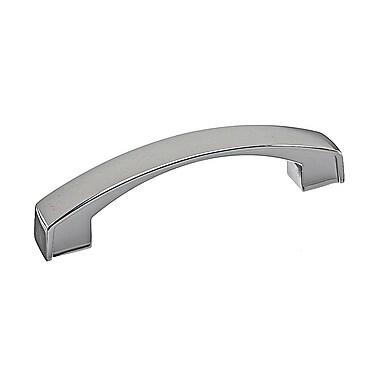 Richelieu 3 7/9'' Center Arch Pull; Nickel