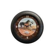 Rightside Design 18'' Mustang Wall Clock