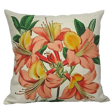 Golden Hill Studio Pink Lily Throw Pillow