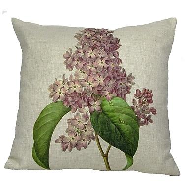 Golden Hill Studio Pink Lilac Throw Pillow