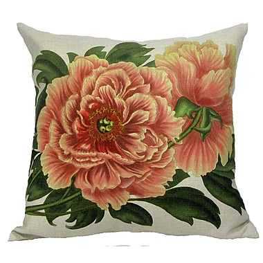 Golden Hill Studio Tree Peony Throw Pillow