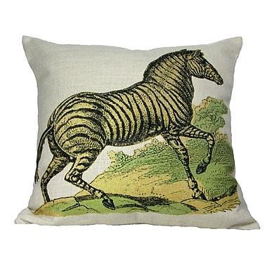 Golden Hill Studio Zebra Throw Pillow