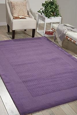 Ebern Designs Aspasia Purple Area Rug; 5' x 8'