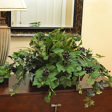 Floral Home Decor Grape Ivy Ledge Planter