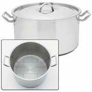 Chef's Secret Precise Heat 42 Quart Stock Pot w/ Lid