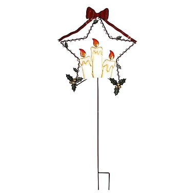 AttractionDesignHome Holiday Flames Garden Stake